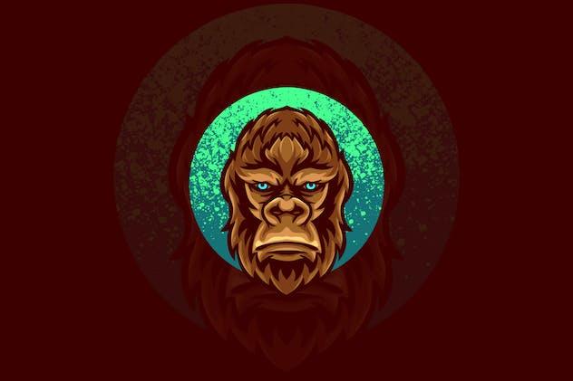 gorilla animal illustration