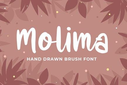 Molima - Fuente dibujada a mano
