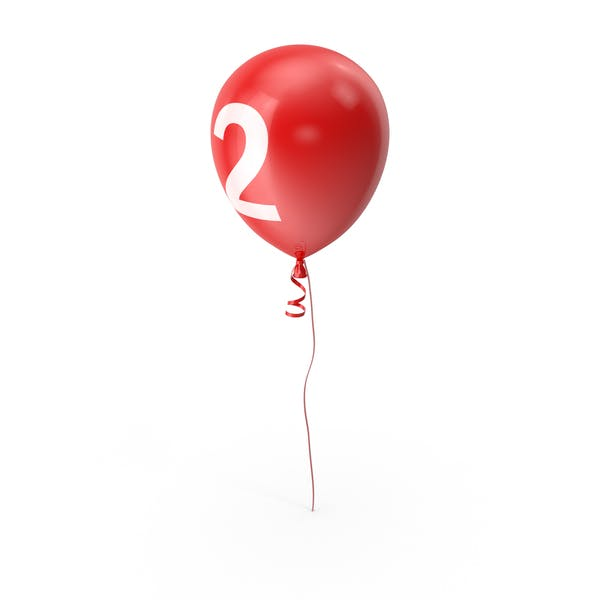 Number 2 Balloon