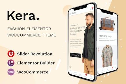 Kera - Moda Elementor WooCommerce Tema