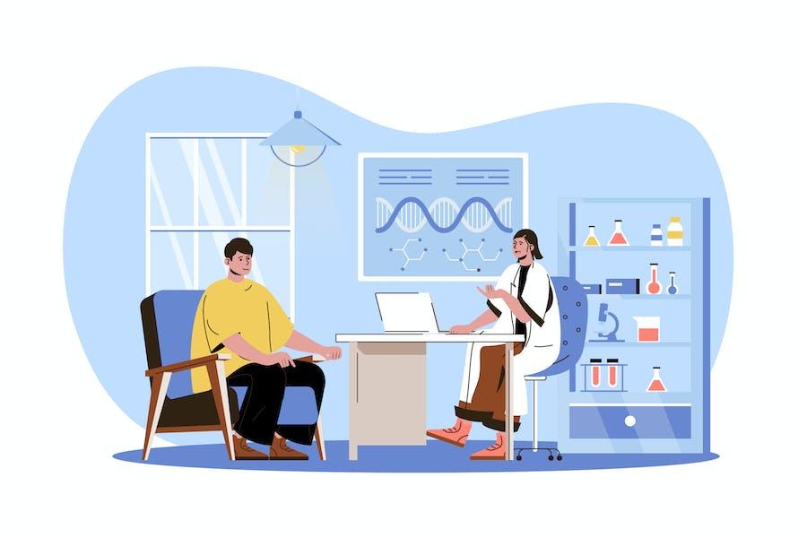 Medical Clinic Web Concept