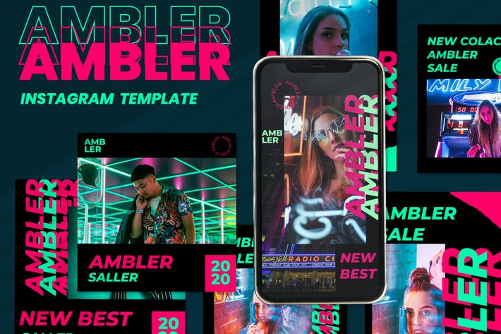 Thumbnail for Ambler - Instagram Post and Stories