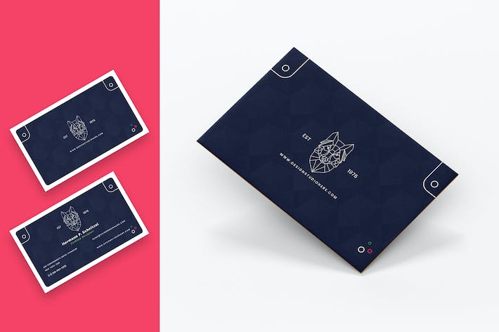 Thumbnail for Photographer Minimal Business Card Template