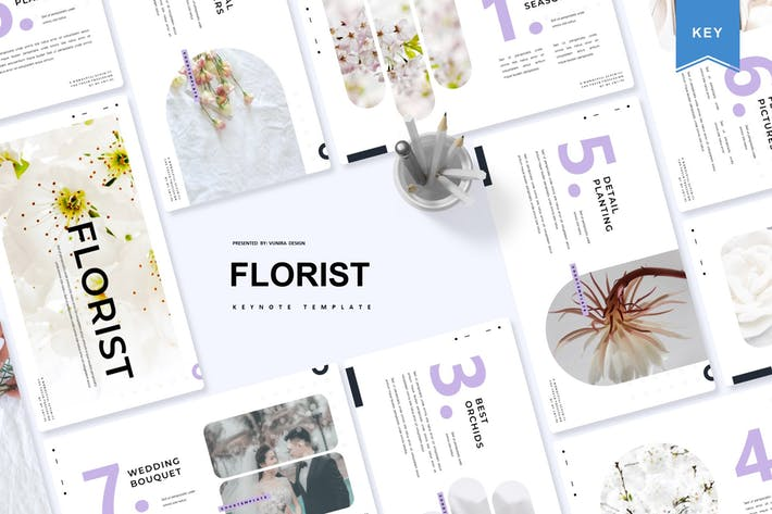 Thumbnail for Florist | Keynote Template