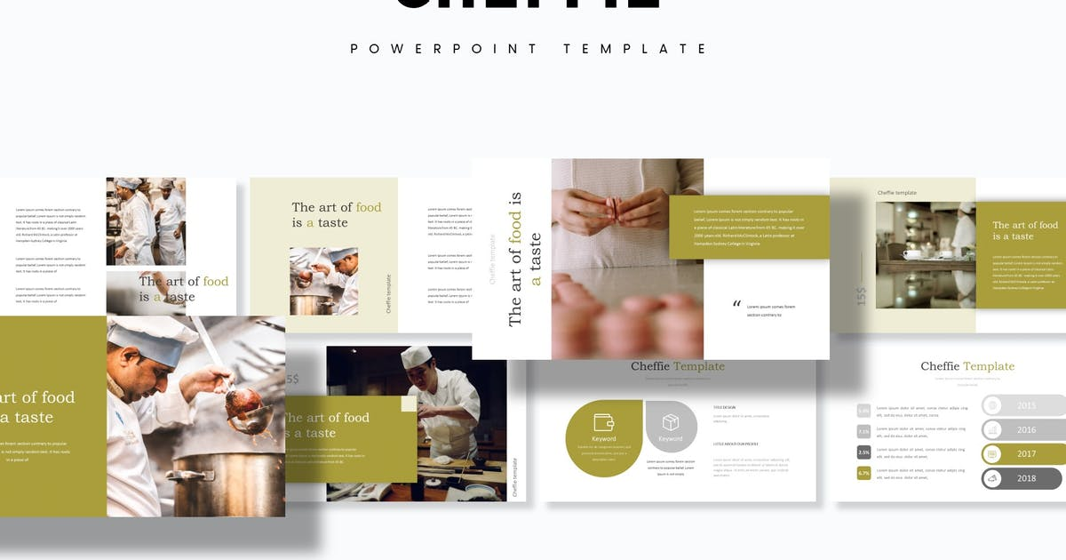 Download Cheffie - Powerpoint Template by aqrstudio