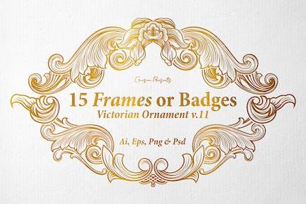 15 Frames v.11 - Victorian Ornament