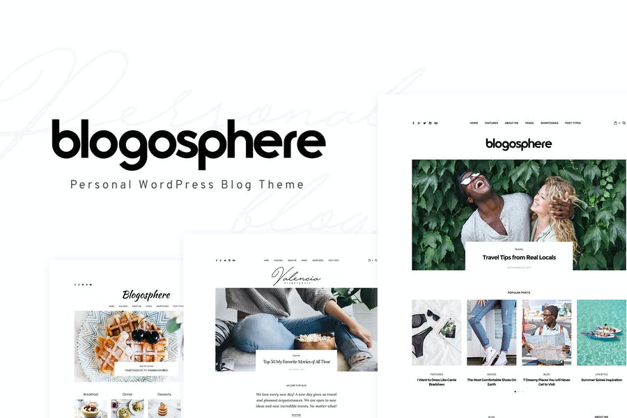 Blogosphere - Multipurpose Blogging Thema