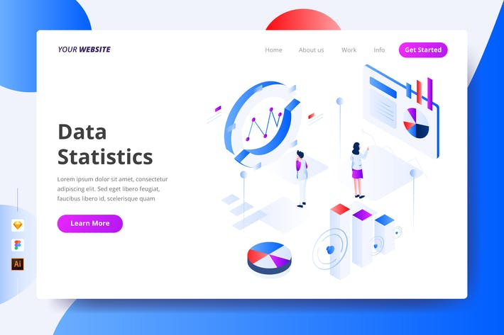 Thumbnail for Data Statistics - Landing Page