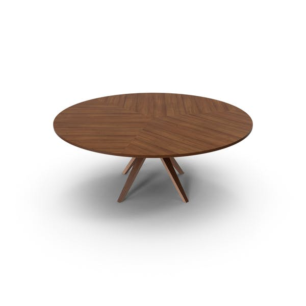 Round Dinner Table