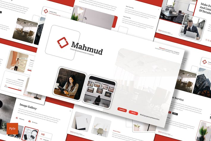 Thumbnail for Mahmud - Powerpoint Template