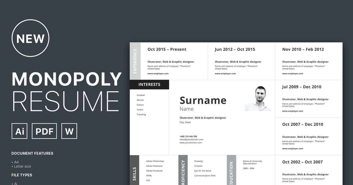 Download Monopoly Resume by spovv