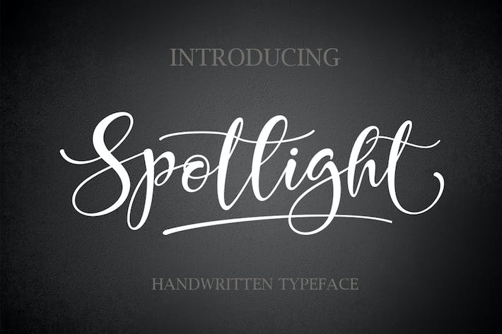 Thumbnail for SPOTLIGHT Handwritten
