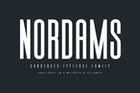 Nordams Sans Serif