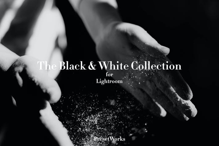 Thumbnail for Black & White Lightroom Presets
