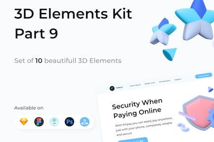 3D Elements Kit - Library Part 9