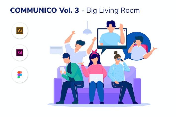 Thumbnail for COMMUNICO VOL. 3 - Big Living Room