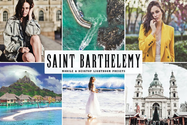 Thumbnail for Saint Barthelemy Mobile & Desktop Lightroom Preset