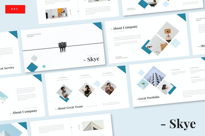 Thumbnail for Skye - Business Powerpoint Template