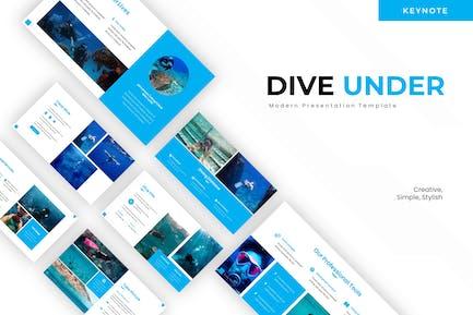 Dive Under - Keynote Template