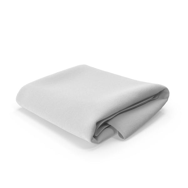 White Towel Folded