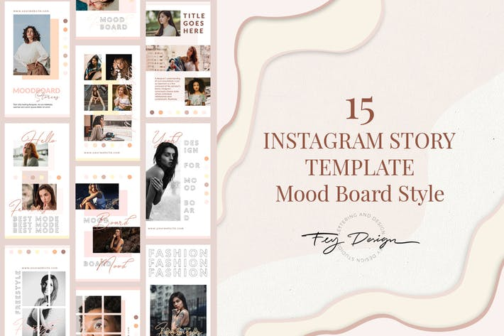 Thumbnail for 15 Moodboard - Instagram Story