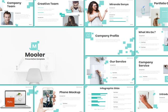 Thumbnail for Mooler - Powerpoint Template