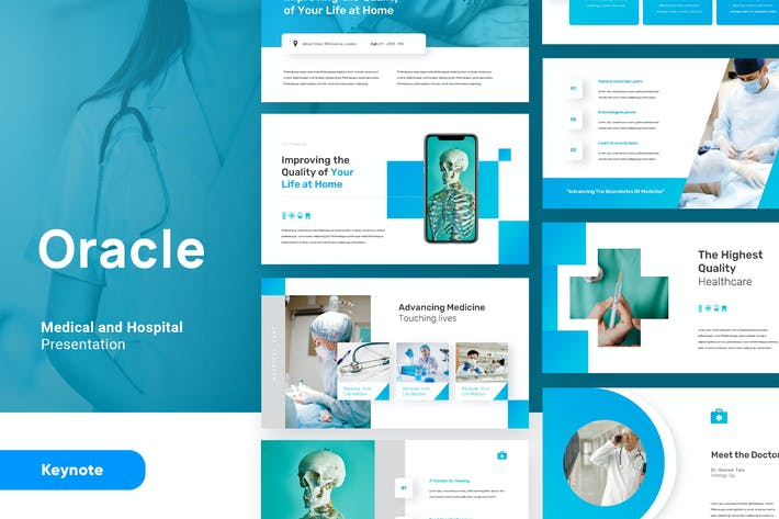 Oracle - Medical and Health Keynote Template