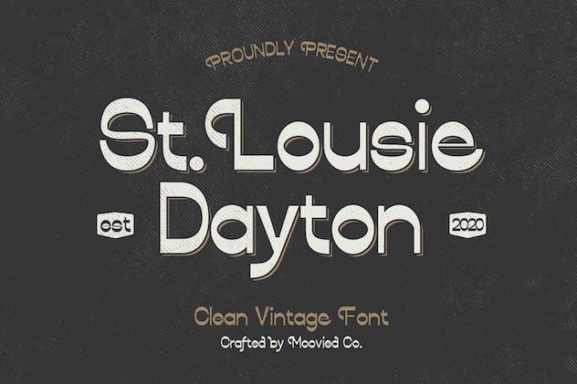 Lousie Dayton Font Sans Display - product preview 0