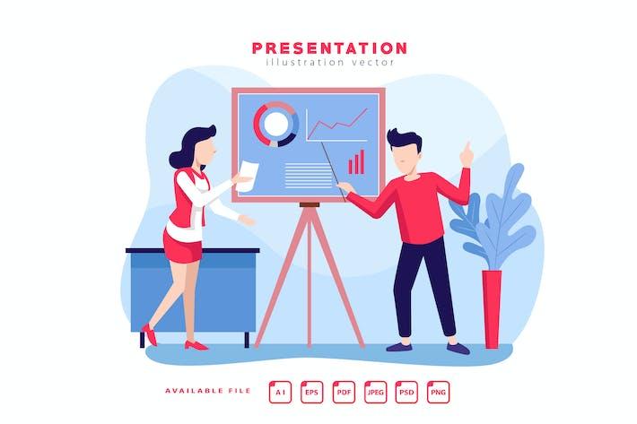 Thumbnail for PRESENTATION - Vector Illustration