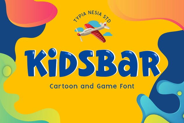 Kidsbar - Fun Game and Cartoon Font