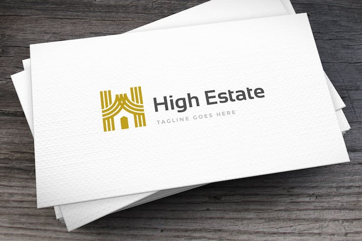Thumbnail for High Estate Letter H Logo Template
