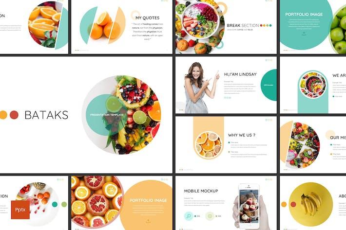 Thumbnail for Bataks - Fruit Powerpoint Template