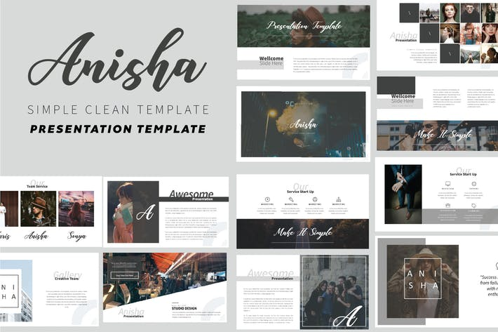 Thumbnail for Anisha Powerpoint Template