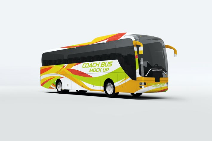Thumbnail for Coach Bus Mock-Up