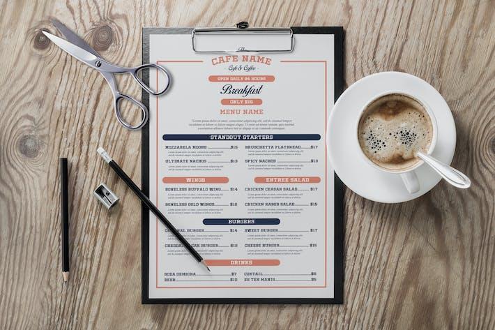 Thumbnail for Vintage Cafe & Coffee Menu