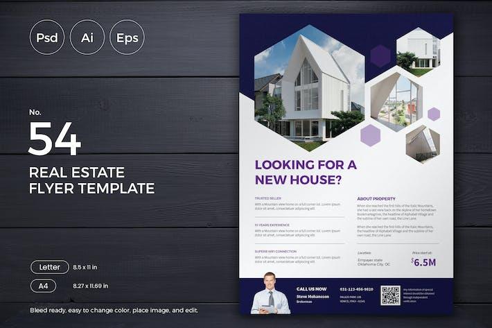Thumbnail for Real Estate Flyer 54 - Slidewerk