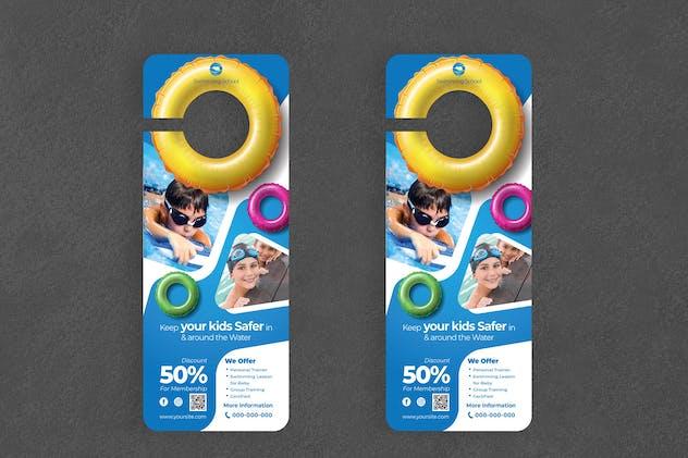 Swimming Door Hanger Creative Promotion