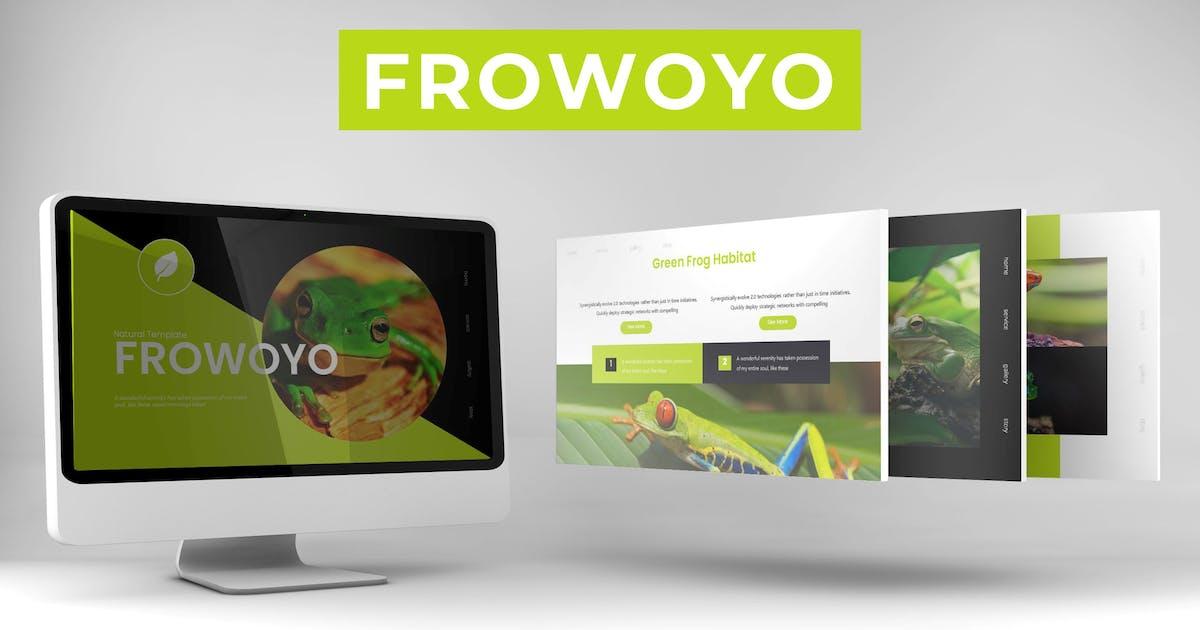 Download Frowoyo - Keynote Template by karkunstudio
