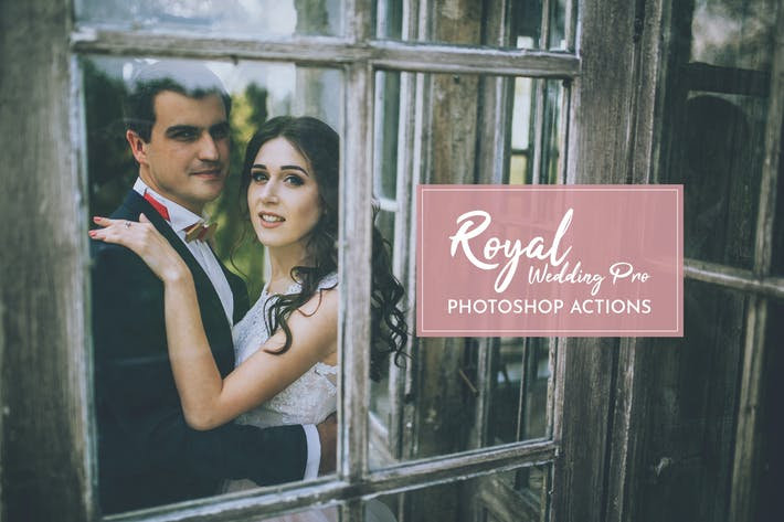 Cover Image For Royal Wedding Pro Photoshop Actions