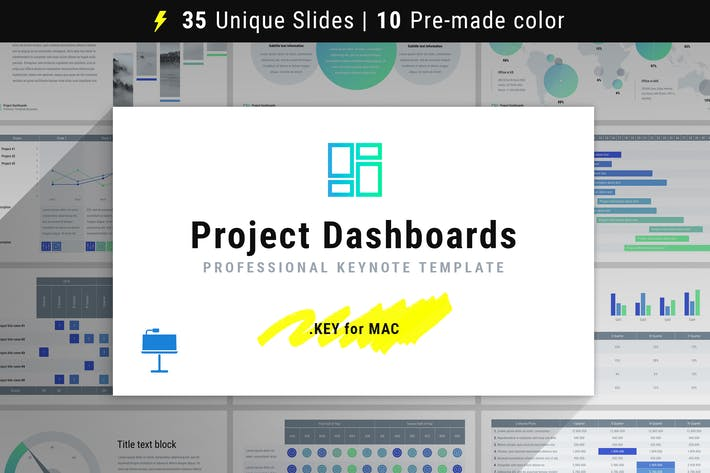 Thumbnail for Project Dashboards for Keynote