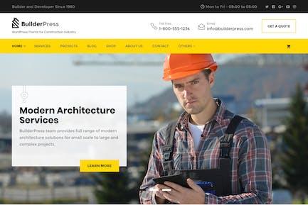 BuilderPress - Thème WordPress pour la construction, un