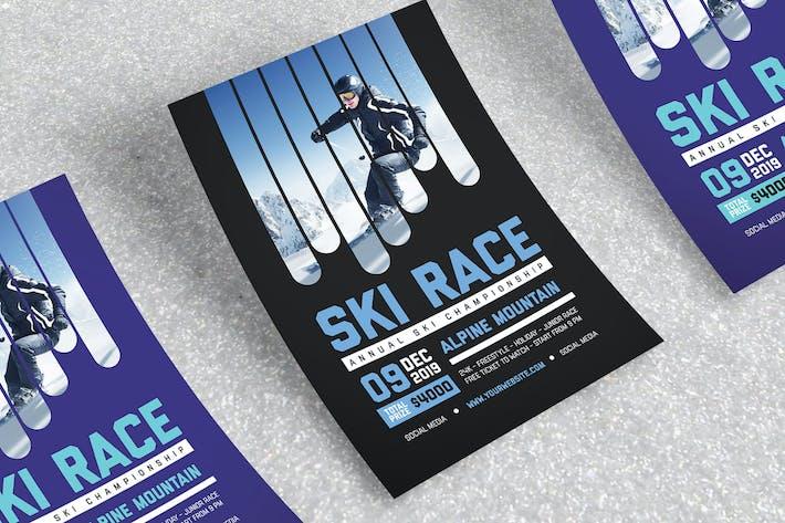 Thumbnail for Ski Race Flyer