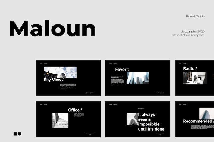 Thumbnail for Малун - Пауэрпойнт