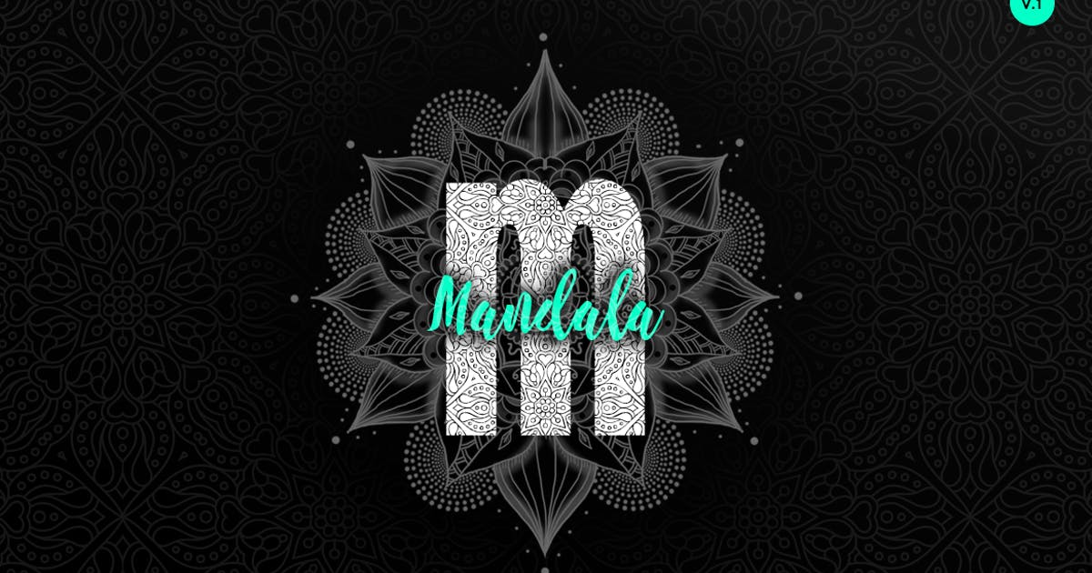 Download Maverick Mandala - Textured Typeface + WebFont by webhance