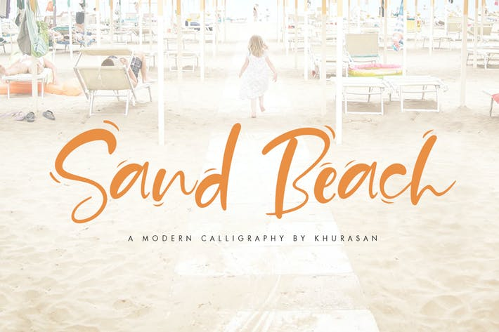 Cover Image For Sand Beach Font