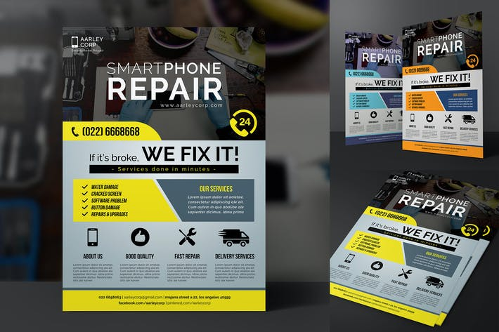 Thumbnail for Smartphone Repair Flyer