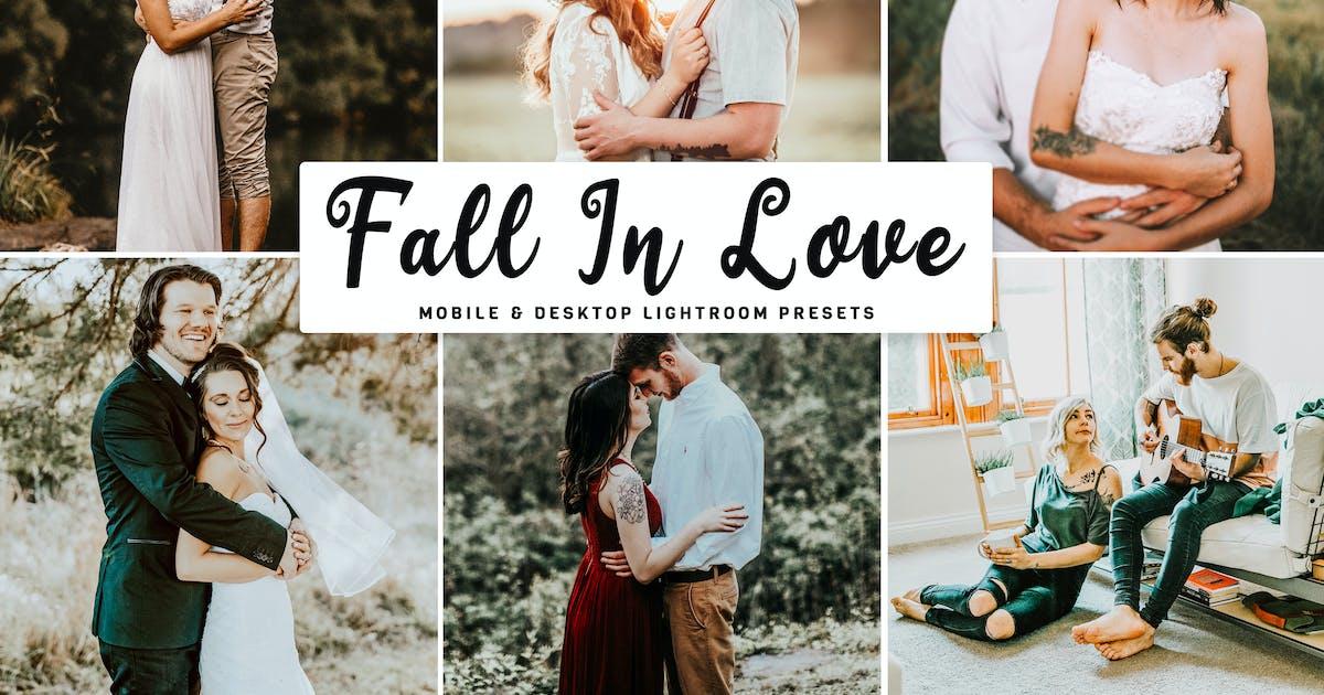 Download Fall In Love Mobile & Desktop Lightroom Presets by creativetacos