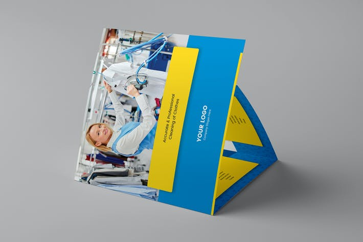 Thumbnail for Brochure – Laundry Tri-Fold Square