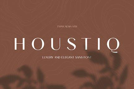 Houstiq - Elegante Lujo Sans