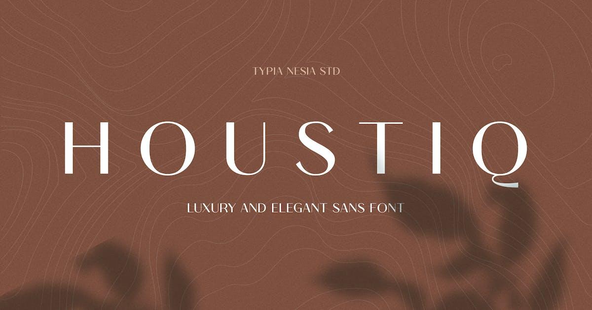 Download Houstiq - Elegant Luxury Sans by yipianesia